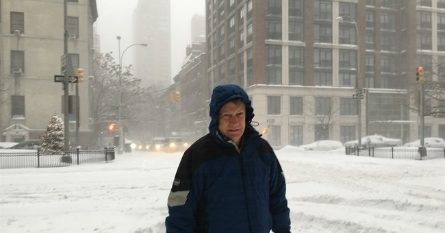 Texas 'weather nerd' comes to NYC to see storm firsthand